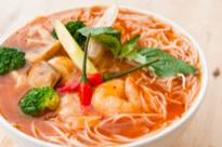 Resep Tom yum noodle soup