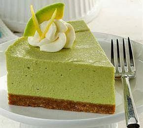 resep cheese cake avocado lemon